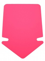 PIL stor, ROSA neon, 340x235mm, 20-pack